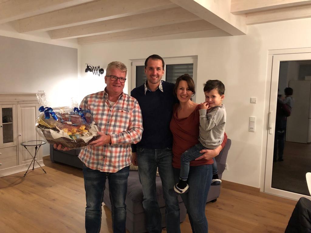 Endabnahme bei Familie Hein in Großwallstadt