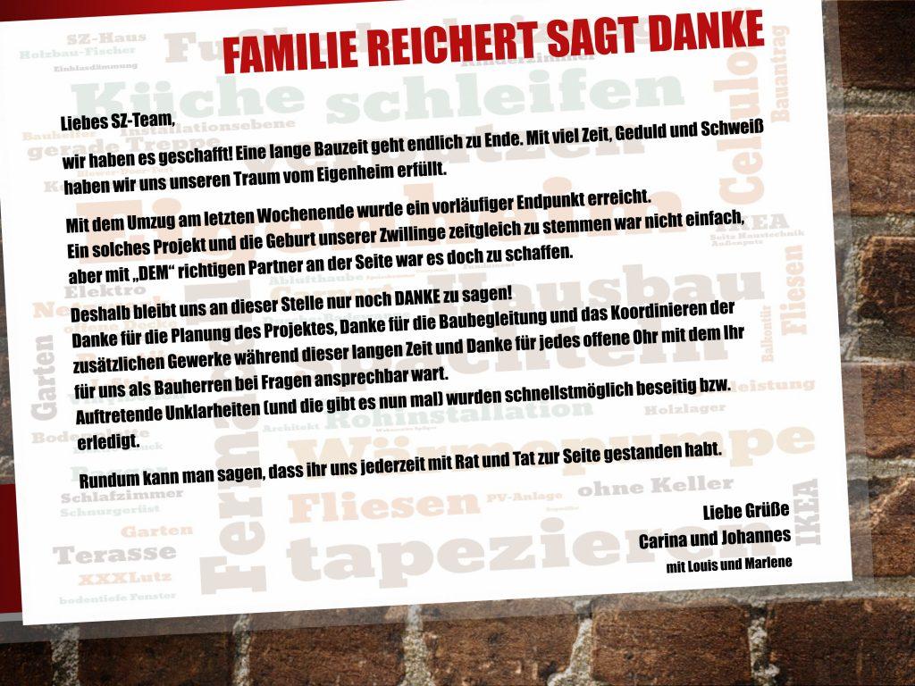 Post von Familie Reichert