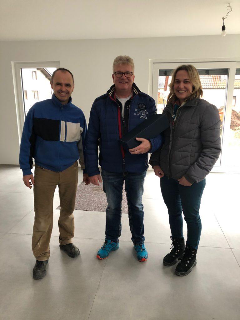 Endabnahme bei Familie Fischer in Großheubach