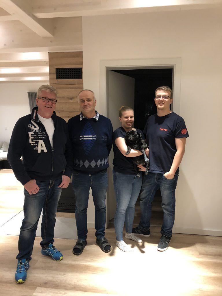 Endabnahme bei Familie Eckart/Krug in Uissigheim